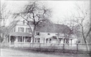 The original Tilden homestead, built by Israel Jr. in the early 1800s and added onto by his son John.